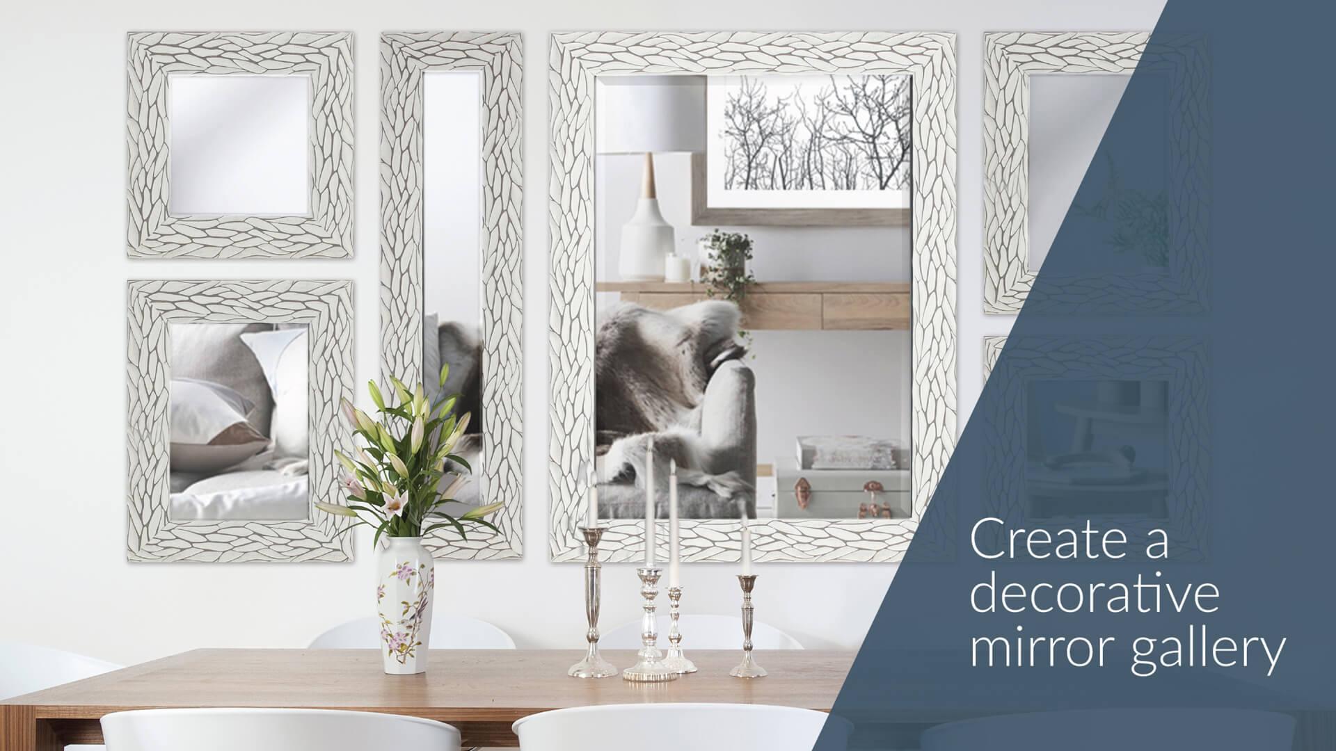 Custom Decorative Mirrors by Mirrorize.ca